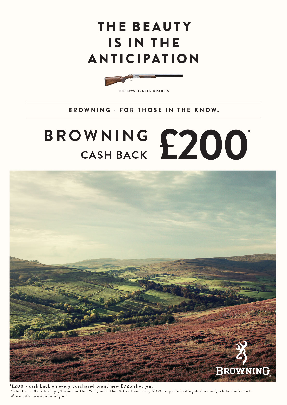 cash back over under £225 uk