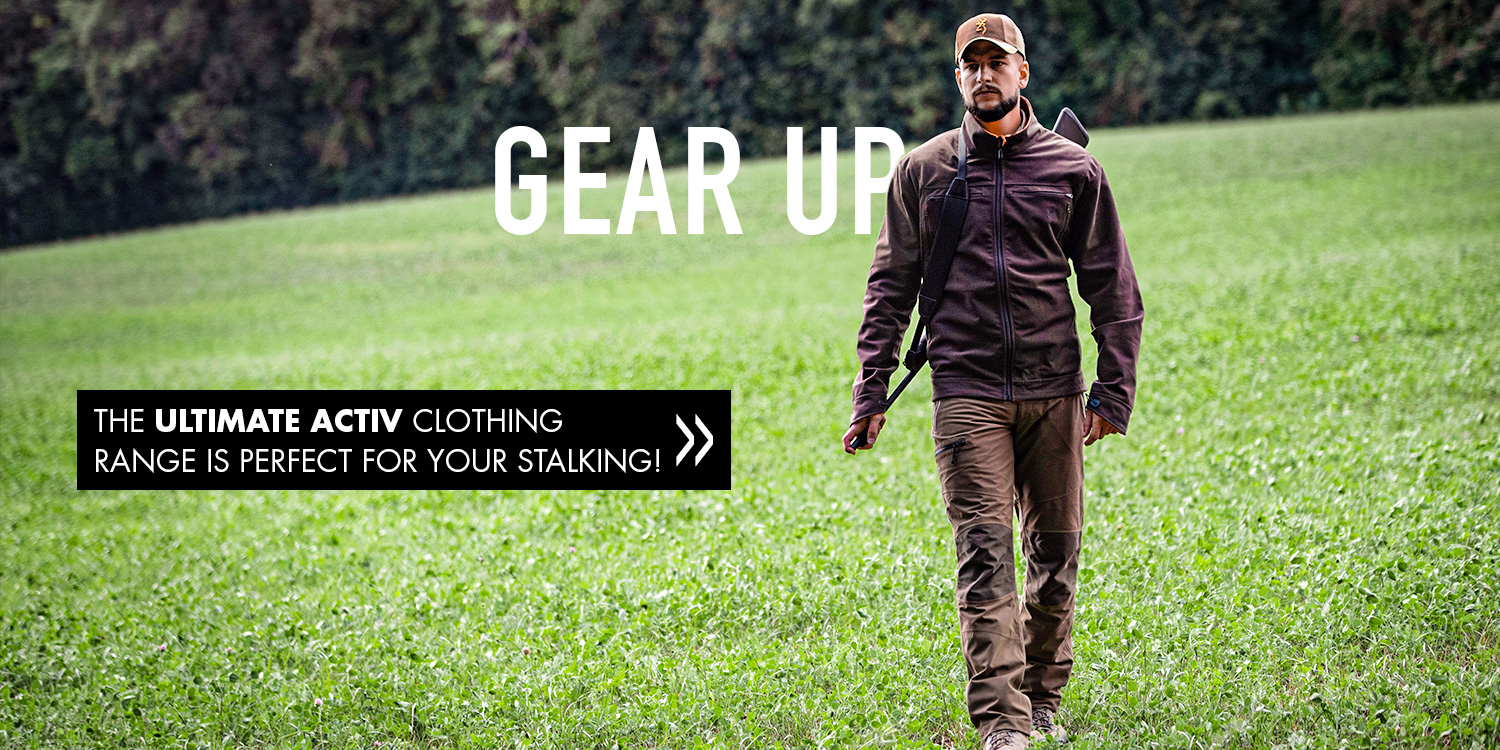 Browning clothes Ultimate Activ stalking