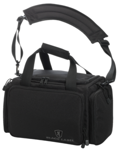 ALFA SHOOTING RANGE BAG, TACTICAL, BLACK