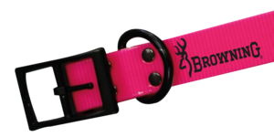 DOG COLLAR, HUNTER PU 2,5x60cm,  PINK