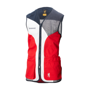 SPORTER SHOOTING VEST RED
