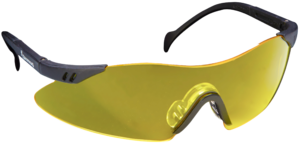 SHOOTING GLASSES, CLAYBUSTER, YELLOW